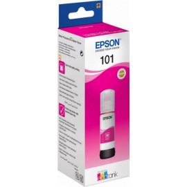 Картридж струйный Epson L101 C13T03V34A пурпурный (6000стр.) (70мл) для Epson L4150/L4160/L6160/L6170/L6190