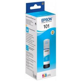 Картридж струйный Epson L101 C13T03V24A синий (6000стр.) (70мл) для Epson L4150/L4160/L6160/L6170/L6190