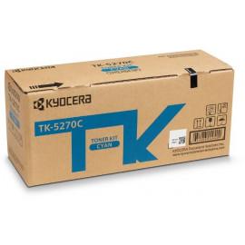 Картридж лазерный Kyocera TK-5270C 1T02TVCNL0 голубой (6000стр.) для Kyocera M6230cidn/M6630cidn/P6230cdn