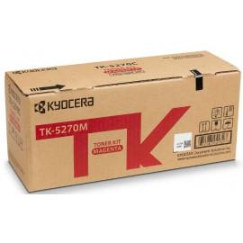 Картридж лазерный Kyocera TK-5270M 1T02TVBNL0 пурпурный (6000стр.) для Kyocera M6230cidn/M6630cidn/P6230cdn