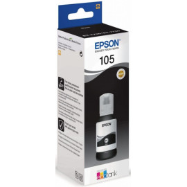 Картридж струйный Epson 105BK C13T00Q140 черный (8000стр.) (140мл) для Epson L7160/7180