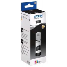 Картридж струйный Epson 106 C13T00R140 фото черный (1900стр.) (70мл) для Epson L7160/7180