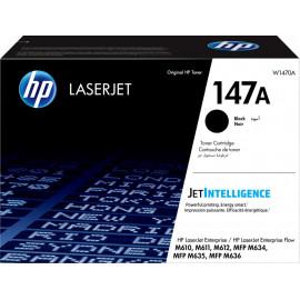 Картридж лазерный HP 147A W1470A черный (10500стр.) для HP LaserJet M610dn