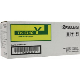 Картридж лазерный Kyocera TK-5140Y 1T02NRANL0 желтый (5000стр.) для Kyocera Ecosys M6030cdn/M6530cdn/P6130cdn