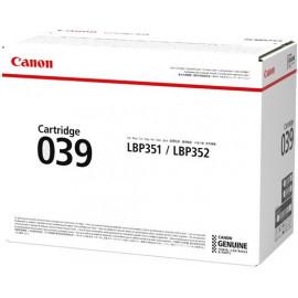 Картридж лазерный Canon 039BK 0287C001 черный (11000стр.) для Canon LBP-351
