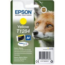 Картридж струйный Epson T1284 C13T12844012 желтый (260стр.) (3.5мл) для Epson S22/SX125