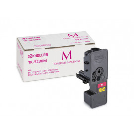 Картридж лазерный Kyocera TK-5230M 1T02R9BNL0 пурпурный (2200стр.) для Kyocera P5021cdn/cdw M5521cdn/cdw
