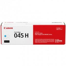Картридж лазерный Canon 045 H C 1245C002 голубой (2200стр.) для Canon i-SENSYS MF630