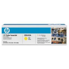 Картридж лазерный HP 125A CB542A желтый (1400стр.) для HP CLJ CP1215/CP1515/CP1518