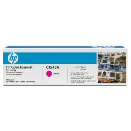 Картридж лазерный HP 125A CB543A пурпурный (1400стр.) для HP CLJ CP1215/CP1515/CP1518
