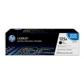 Картридж лазерный HP 125A CB540AD черный x2упак. (4400стр.) для HP CLJ CP1215/CP1515/CP1518