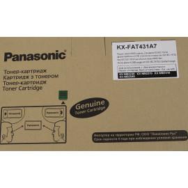 Картридж лазерный Panasonic KX-FAT431A7 черный (6000стр.) для Panasonic KX-MB2230/2270/2510/2540