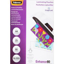 Пленка для ламинирования Fellowes 80мкм A4 (25шт) глянцевая 216x303мм CRC-53962 (FS-53962)