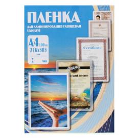 Пленка для ламинирования Office Kit 175мкм A4 (100шт) глянцевая 216x303мм PLP11523-1