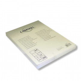 Пленка для ламинирования Fellowes 100мкм A4 (100шт) глянцевая Lamirel (LA-78658)