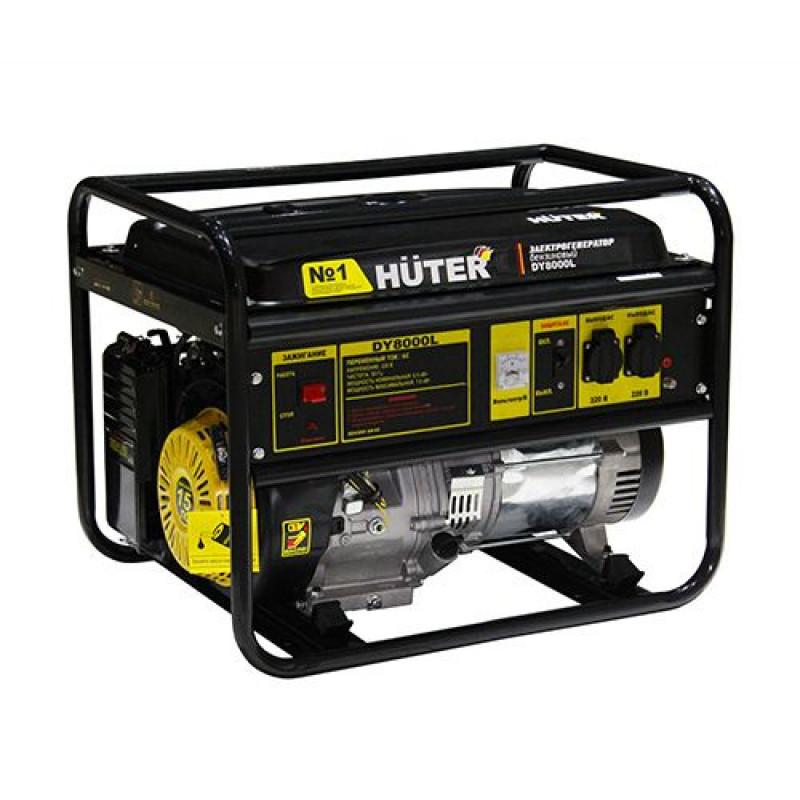 Генератор Huter DY8000L 6.3кВт