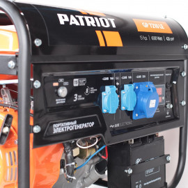 Генератор Patriot GP 7210LE 6.5кВт