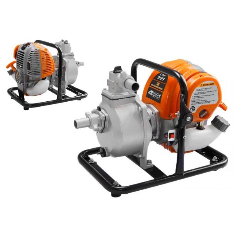 Мотопомпа Carver CGP 259-2 для слабозагр.вод. (01.022.00002)
