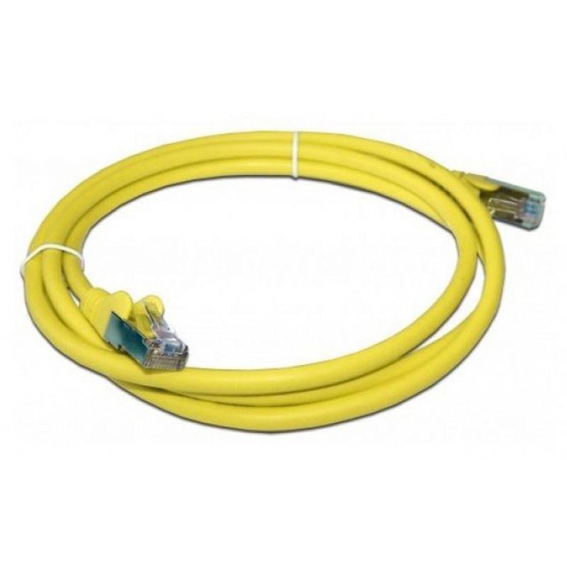 Патч-корд Lanmaster LAN-PC45/S5E-5.0-YL UTP вилка RJ-45-вилка RJ-45 кат.5е 5м желтый LSZH (уп.:1шт)