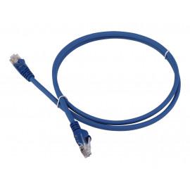 Патч-корд Lanmaster LAN-PC45/U5E-7.0-BL UTP вилка RJ-45-вилка RJ-45 кат.5е 7м синий LSZH (уп.:1шт)