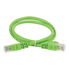 Патч-корд ITK PC02-C5EUL-2M UTP вилка RJ-45-вилка RJ-45 кат.5е 2м зеленый LSZH (уп.:1шт)