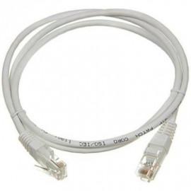 Патч-корд ITK PC01-C5EU-1M5 UTP вилка RJ-45-вилка RJ-45 кат.5е 1.5м серый ПВХ (уп.:1шт)