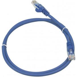Патч-корд Lanmaster LAN-PC45/U5E-1.0-BL UTP вилка RJ-45-вилка RJ-45 кат.5е 1м синий LSZH (уп.:1шт)