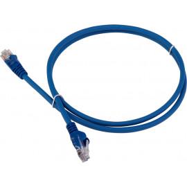 Патч-корд Lanmaster LAN-PC45/U5E-5.0-BL UTP вилка RJ-45-вилка RJ-45 кат.5е 5м синий LSZH (уп.:1шт)