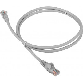 Патч-корд Lanmaster LAN-PC45/U5E-1.5-GY UTP вилка RJ-45-вилка RJ-45 кат.5е 1.5м серый LSZH (уп.:1шт)