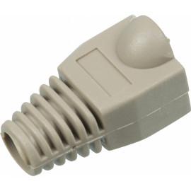 Колпачок Lanmaster TWT-BO-6.0-GY/100 (упак.:100шт) 100м серый