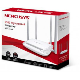 Роутер беспроводной Mercusys MW325R N300 10/100BASE-TX белый