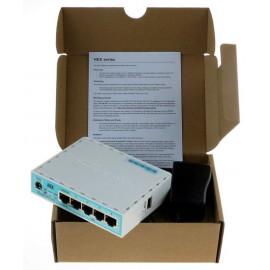 Роутер MikroTik hEX (RB750GR3) 10/100/1000BASE-TX белый