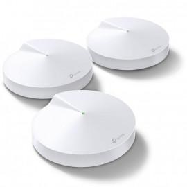 Бесшовный Mesh роутер TP-Link Deco M9 Plus (DECO M9 PLUS(3-PACK)) AC2200 10/100/1000BASE-TX (упак.:3шт)