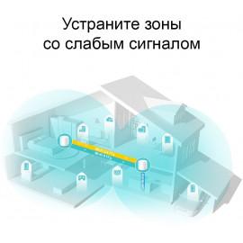 Бесшовный Mesh роутер TP-Link DECO X20(2-PACK) AX1800 10/100/1000BASE-TX белый