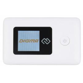 Модем 3G/4G Digma Mobile Wifi DMW1969 USB Wi-Fi Firewall +Router внешний белый