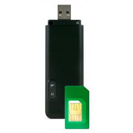 Модем 3G/4G Мегафон M150-4 USB +Router внешний черный