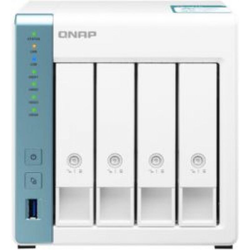 Сетевое хранилище NAS Qnap TS-431K 4-bay настольный Cortex-A15 AL-214