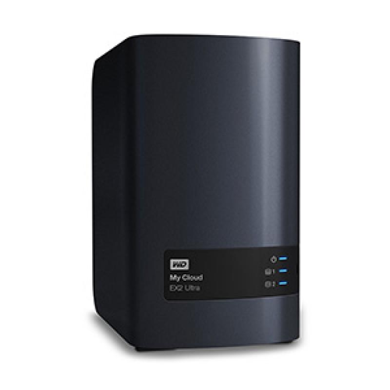 Сетевое хранилище NAS WD Original WDBSHB0000NCH-EEUE 2-bay настольный Armada 385
