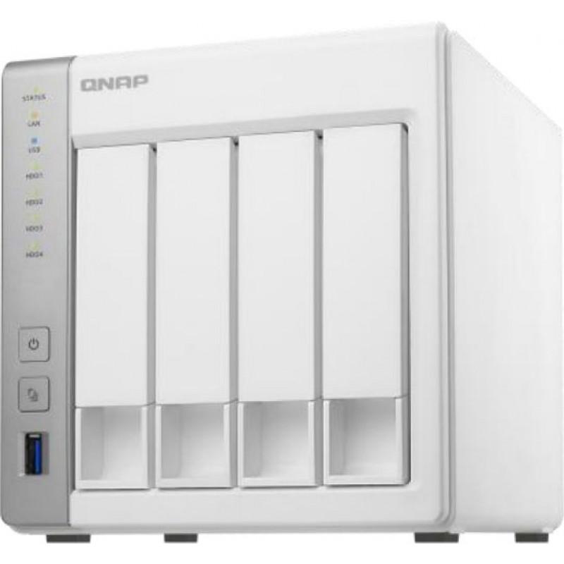Сетевое хранилище NAS Qnap Original D4 4-bay настольный Cortex-A15 AL-212